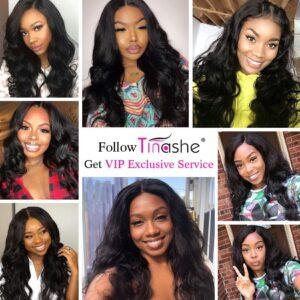tinashe hair body wave customer show