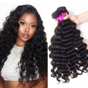 tinashe hair brazilian loose deep 4 bundles