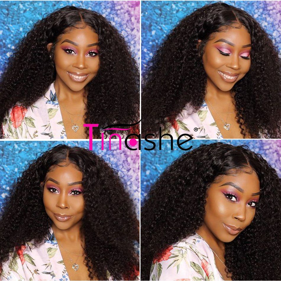 Tinashe Brazilian curly hair customer show