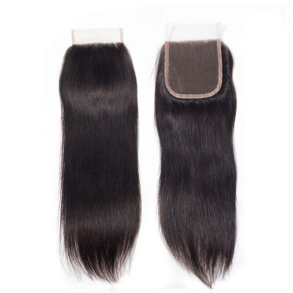 straight hair lace closure 1