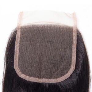 straight hair lace closure 3