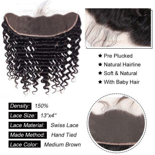 tinashe hair deep wave frontal