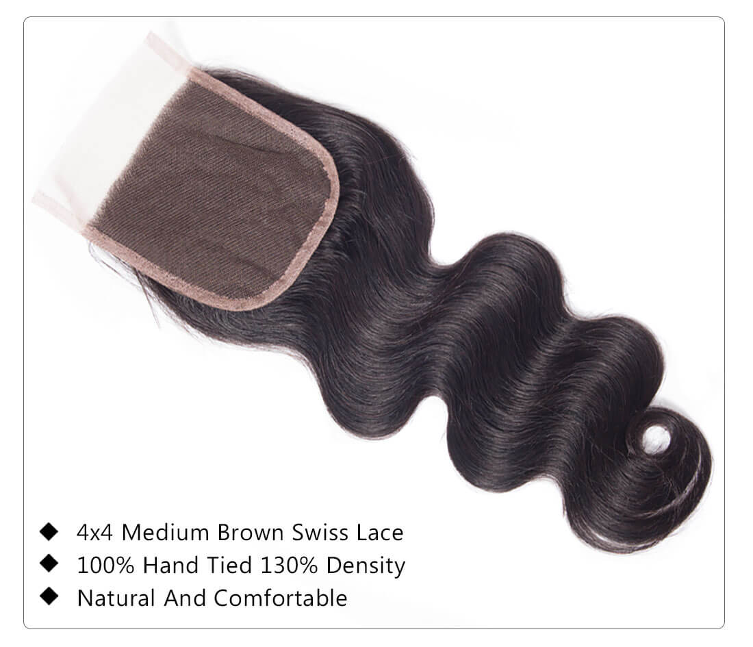 tinashe hair extension body wave lace closure