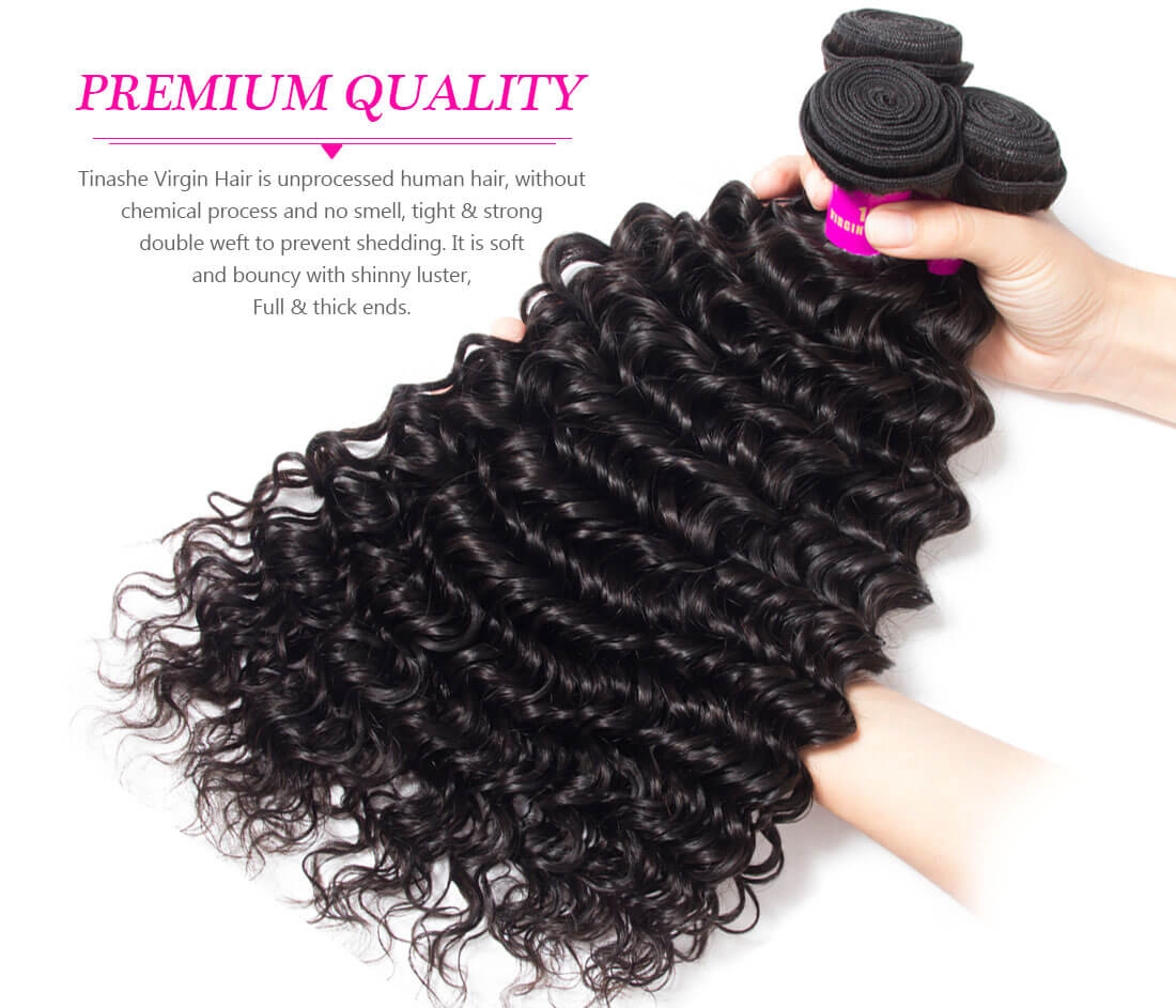 tinashe hair deep wave hair bundles