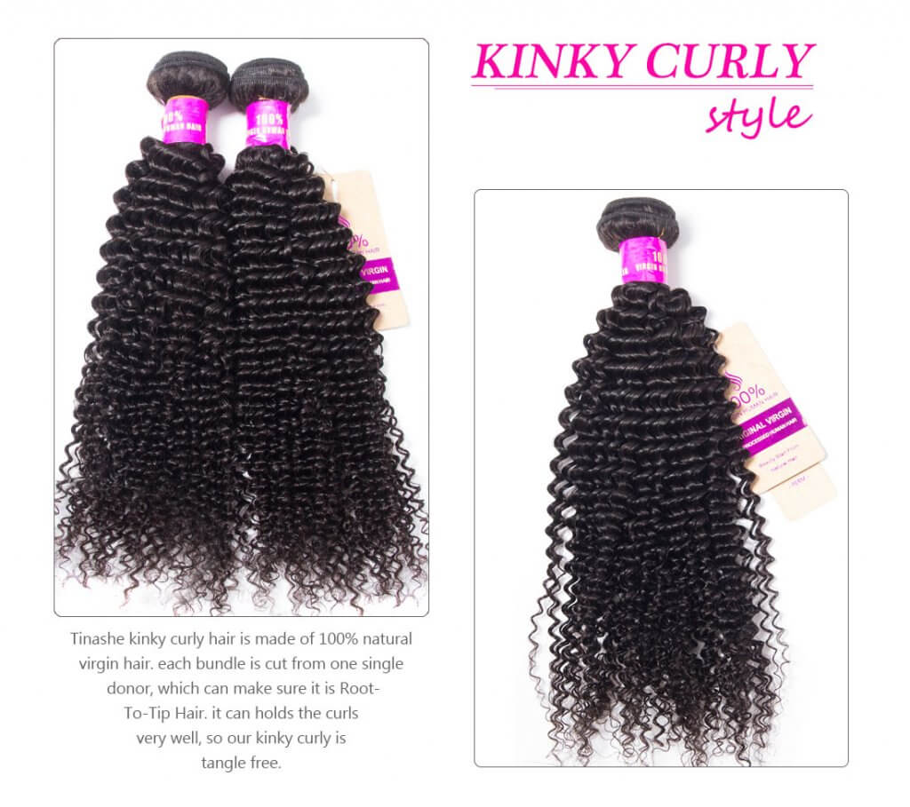 kinky curly WAVE STYLE