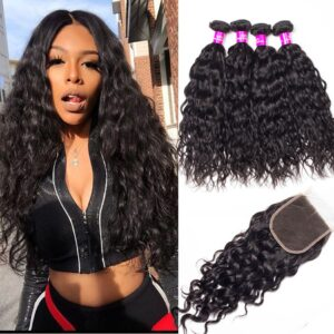 peruvian-water-wave-4-bundles-with-closure