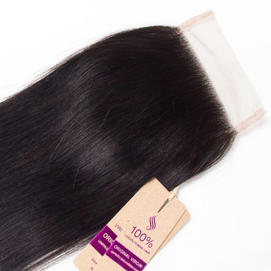 straight hair lace closure 2