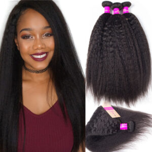 tinashe hair 4 bundles kinky straight hair