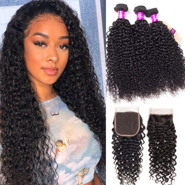 Malaysian-curly-hair-3-bundles-with-closure