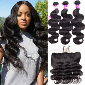 tinashe hair malaysian body wave 3 bundles with frontal