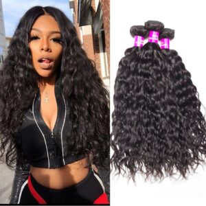 tinashe hair malaysian water wave 3 bundles
