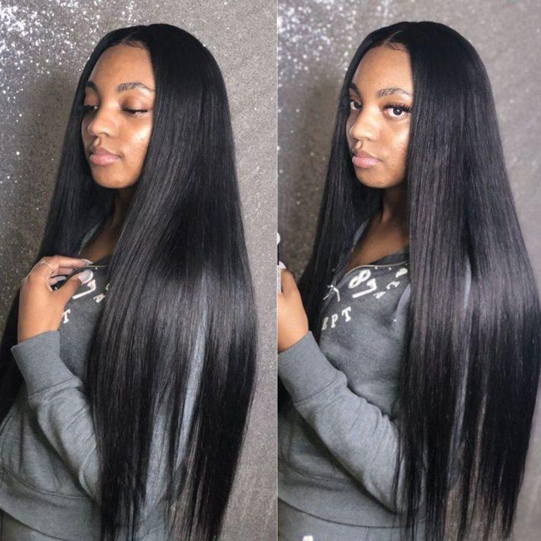 tinashe long straight hair one bundle 3