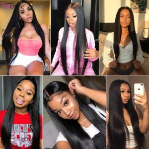tinashe long straight hair one bundle 5