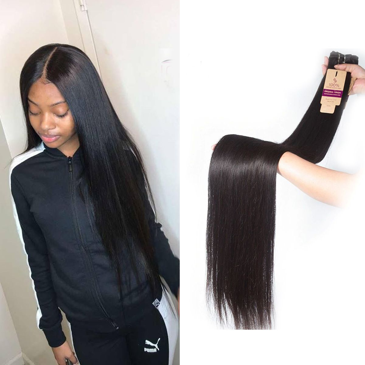 Long Straight Hair Bundle 30 32 34 36 38 40 Inch Sale Tinashehair