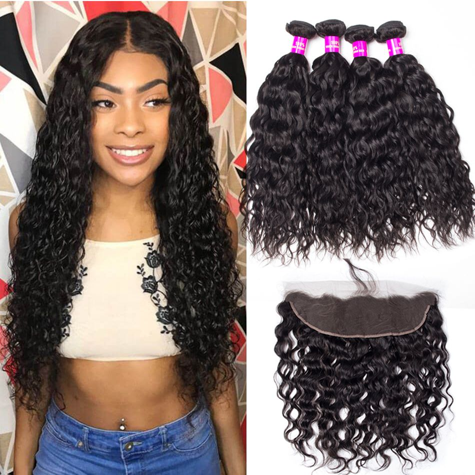 Indian Wet and Wavy Hair with Frontal Sale | Tinashehair