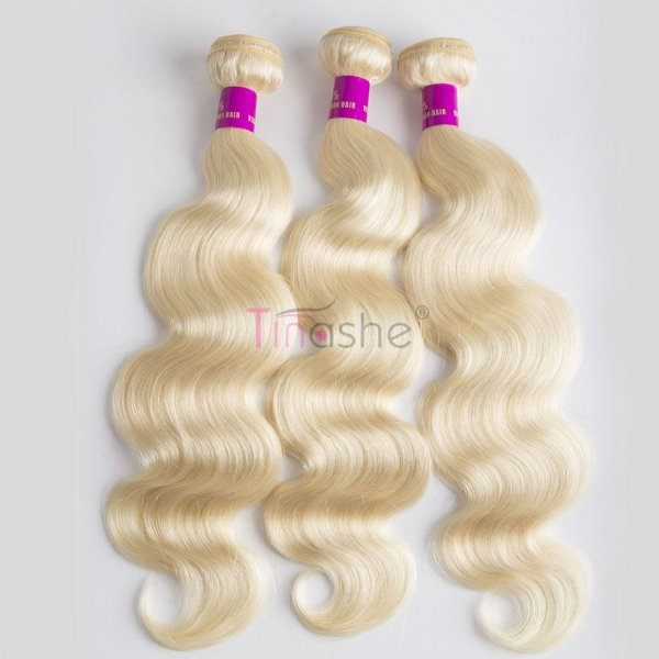 tinashe hair 613 body wave blonde bundles