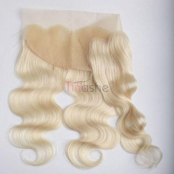 tinashe hair 613 body wave blonde frontal closure