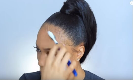 How To Do A Sleek Ponytail On Natural Hair Tinashehair