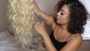 How Easily You Can Transform Blonde Tinashe Hair to Grey