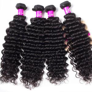 Tinashe hair Brazilian deep wave hair bundles