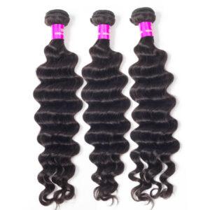 Tinashe hair Brazilian loose deep wave bundles