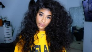 Tinashe hair back to school - loose wave hair