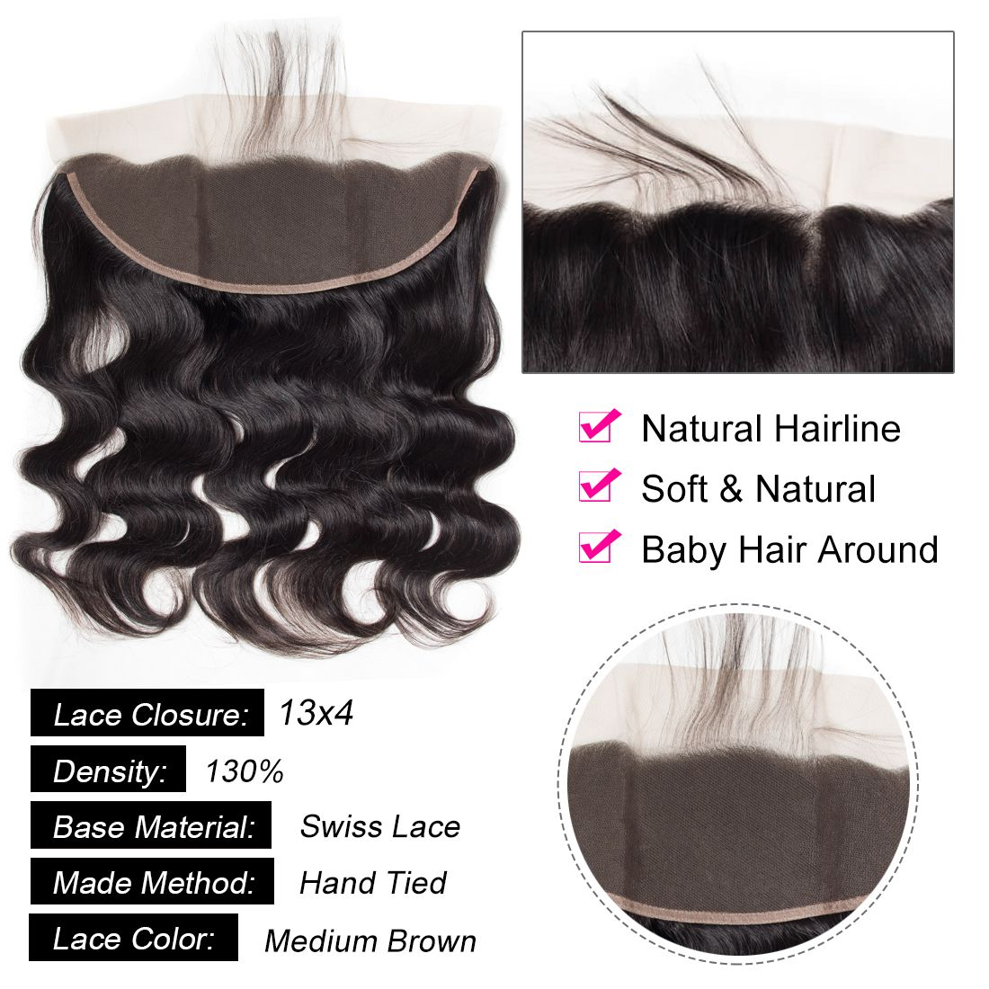 tinashe hair body wave hair with frontal