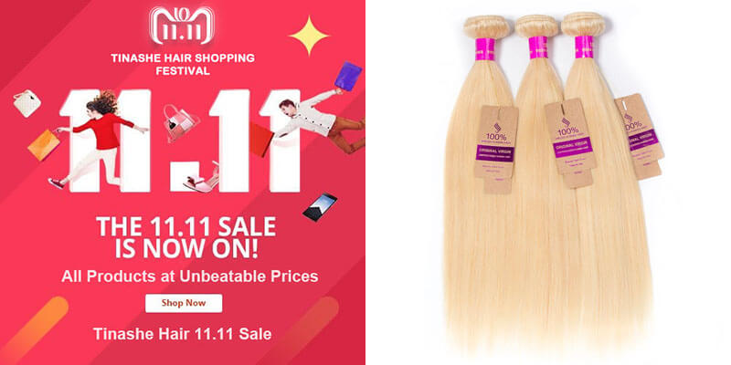 tinashe hair 11.11 sale - 613 hair