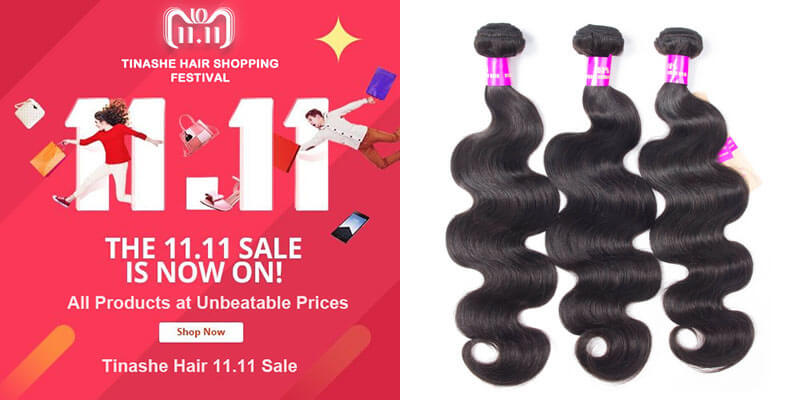 tinashe hair 11.11 sale - body wave