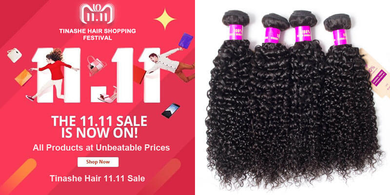 tinashe hair 11.11 sale - curly wave