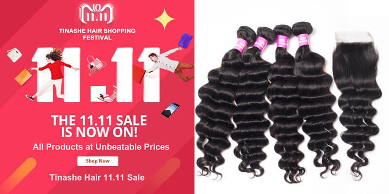 tinashe hair 11.11 sale - loose deep wave
