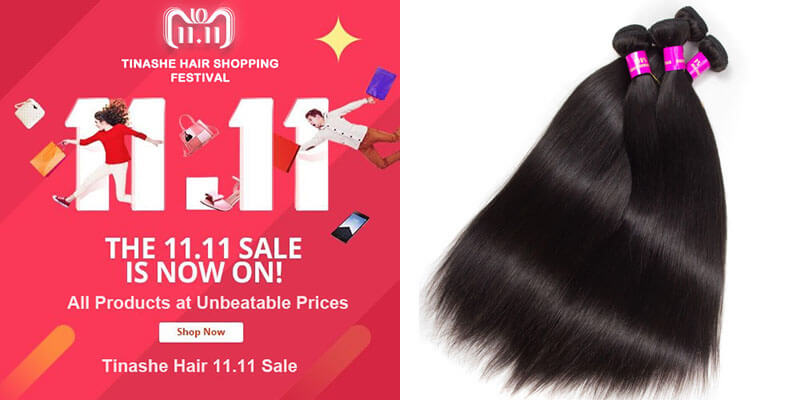 tinashe hair 11.11 sale - straight hair
