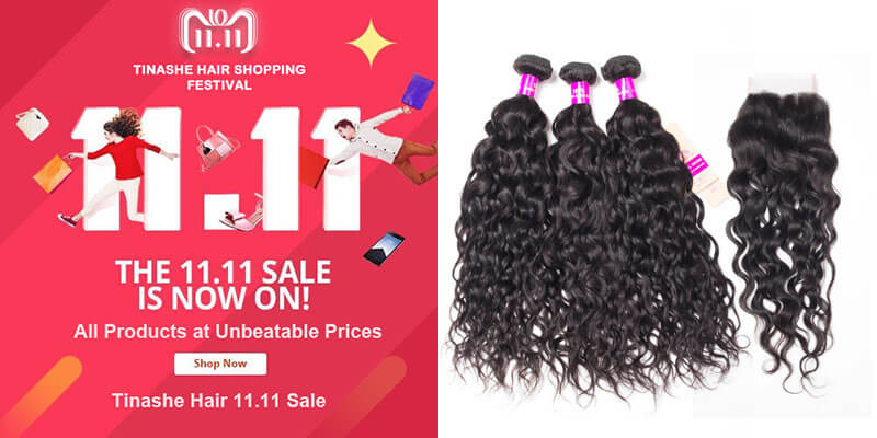 tinashe hair 11.11 sale - wet and wavy water wave