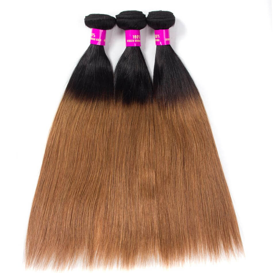 Tinashe hair straight hair bundles ombre hair 1b 30 (2)
