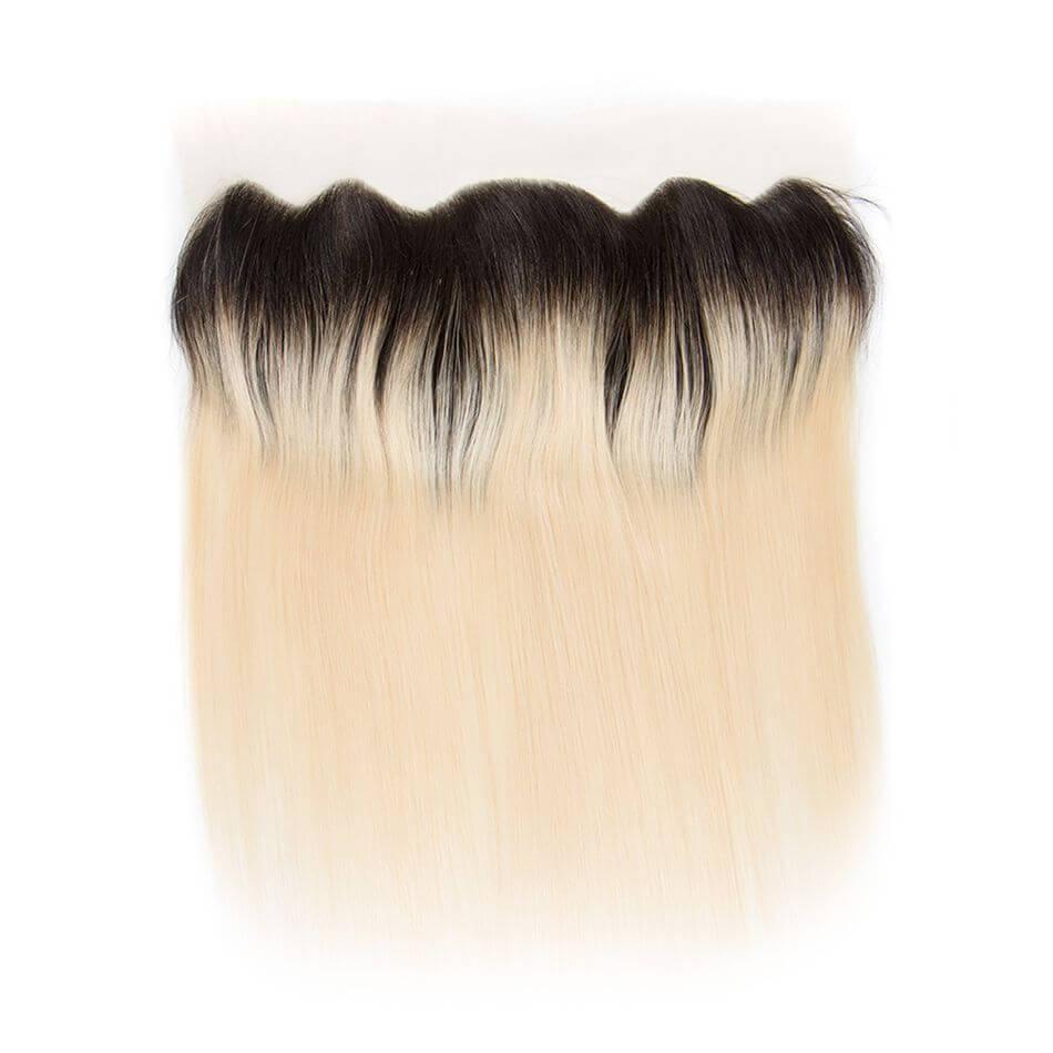 tinashe hair straight hair lace closure frontal 1b 613 blonde (1)