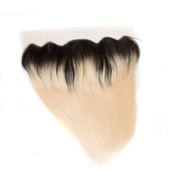 tinashe hair straight hair lace closure frontal 1b 613 blonde