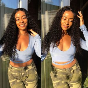 Deep wave 6x6 lace wig