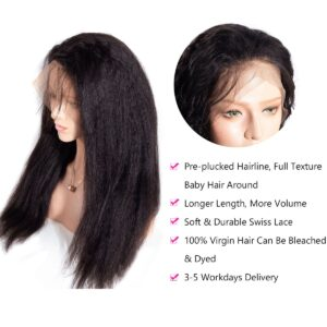 Kinky-Straight-wig