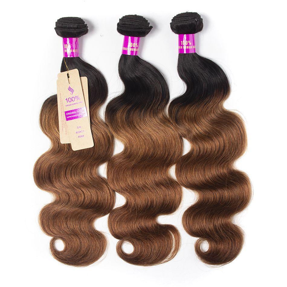 Tinashe hair 1b 30 ombre body wave bundles (2)