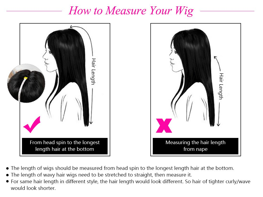 Tinashe hair Measure wigs