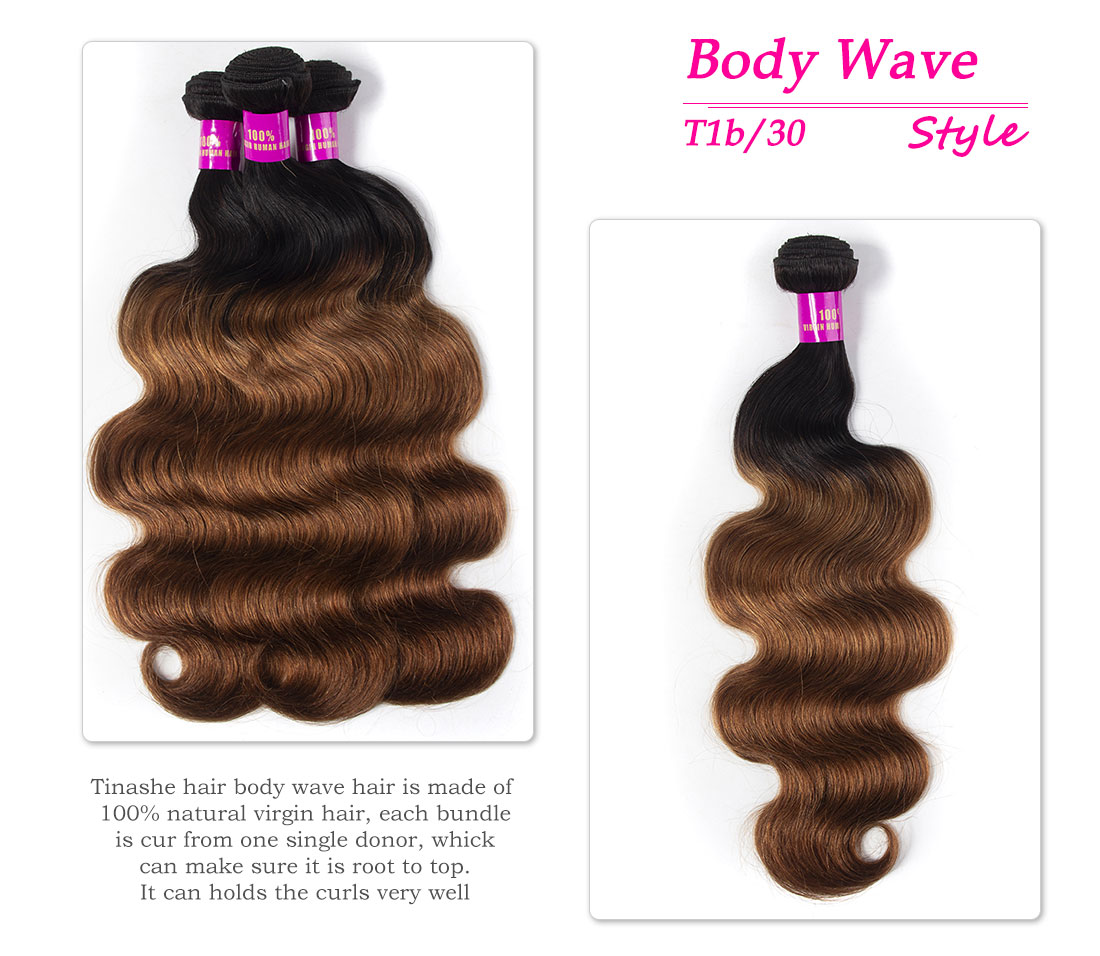 Tinashe hair 1b 30 ombre body wave bundles
