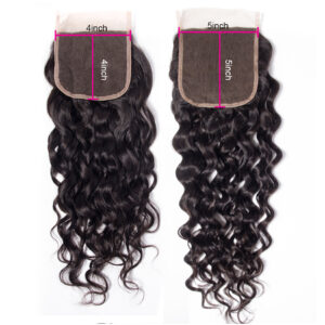 Tinashe hair water wave 5x5 lace closure