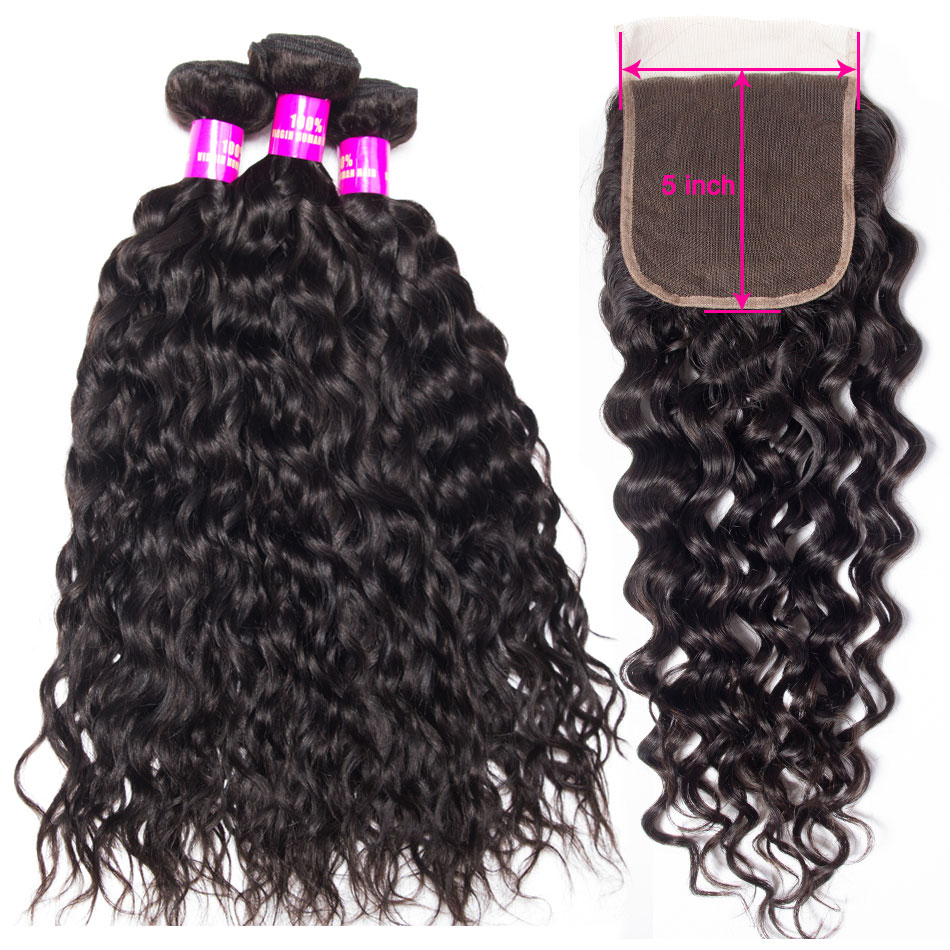 tinashe-hair-water-wave-bundles-with-5×5-lace-closure