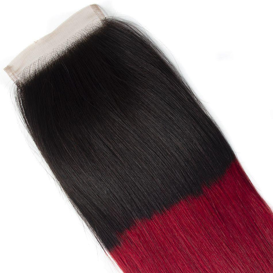 Tinashe 1b red 4x4 lace closure (1)