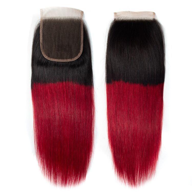 Tinashe 1b red 4×4 lace closure (6)