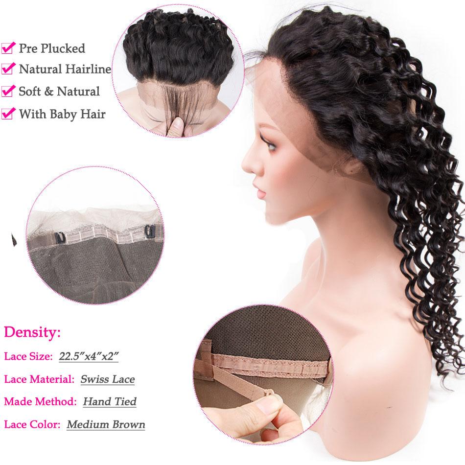 tinashe hair deep wave 360 frontal
