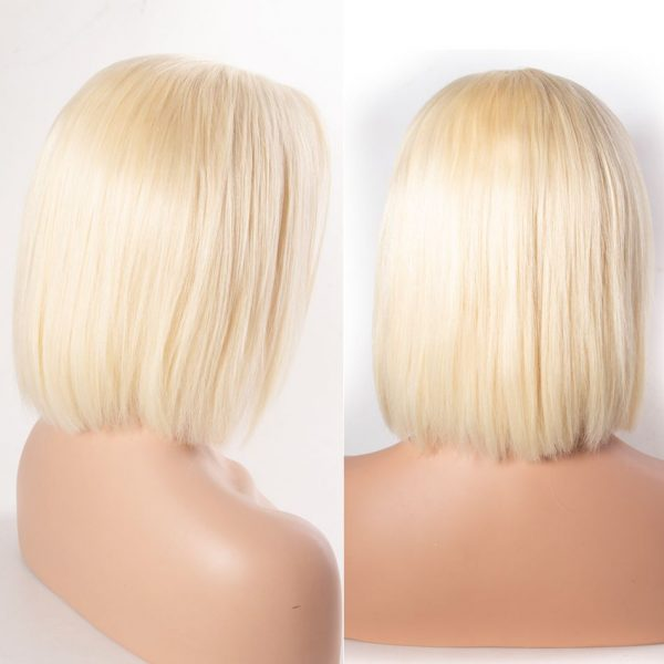 Tinashe hair straight hair bob wigs blonde 613 (8)