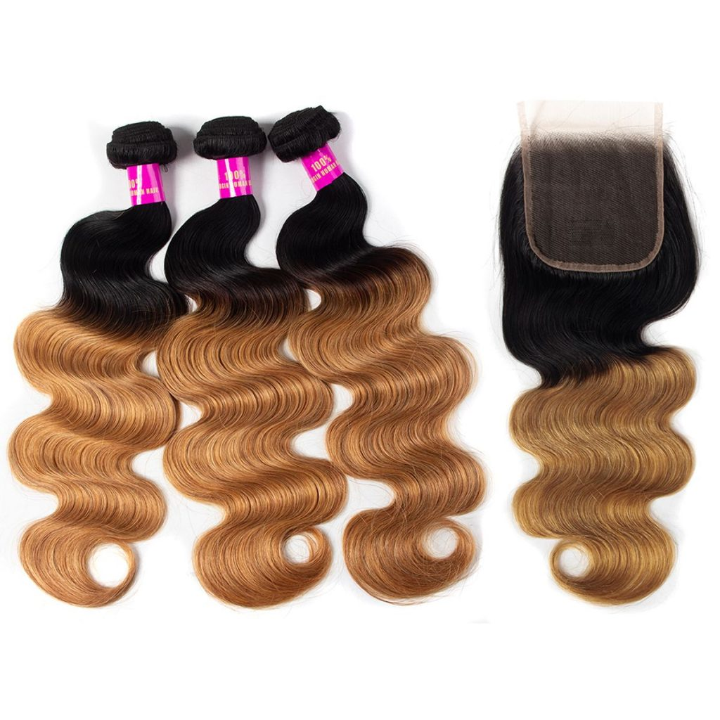 Tinashe hair 1b 27 body wave closure (3)