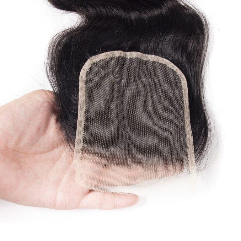 Tinashe hair water wave transparent lace closure
