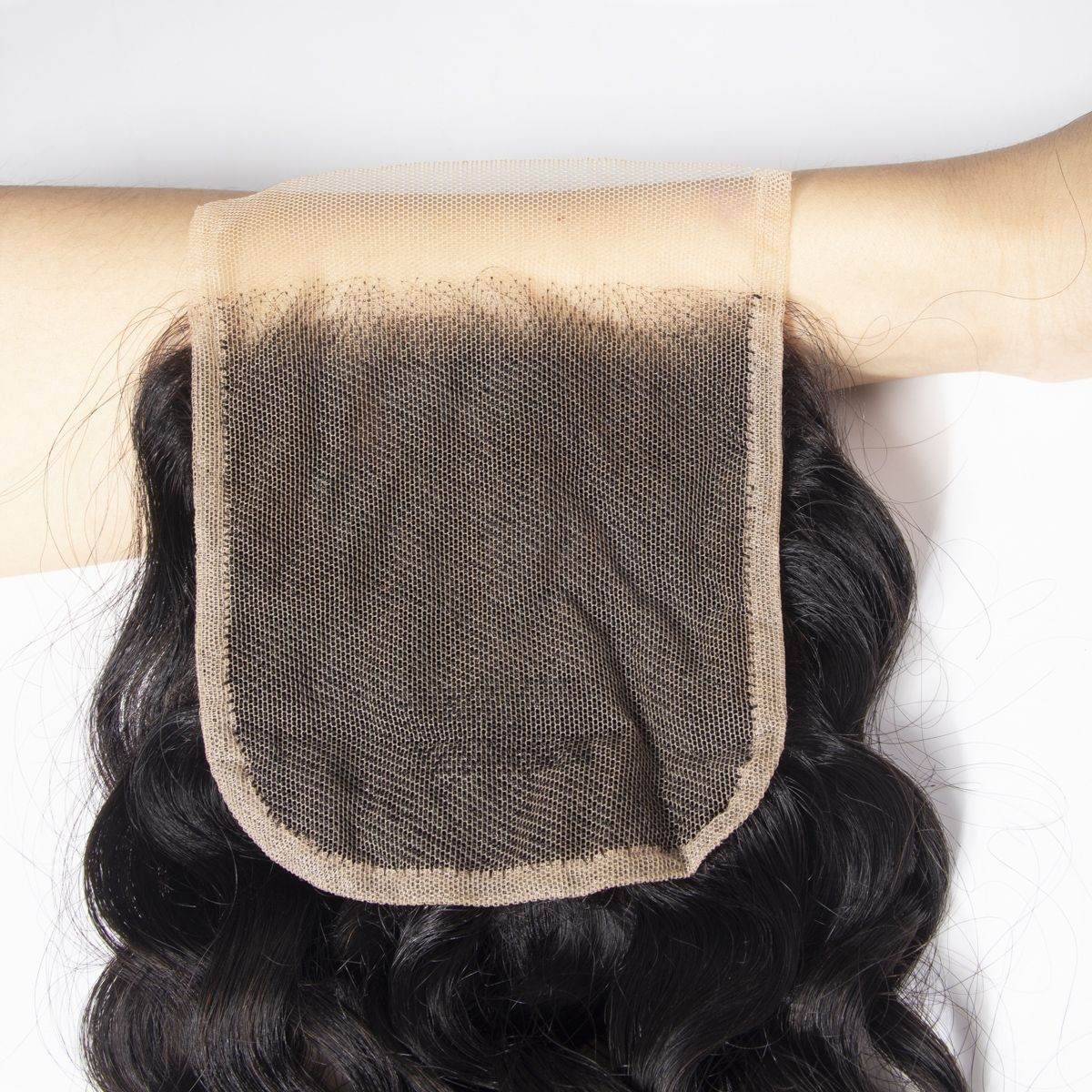 Tinashe hair water wave transparent lace closure